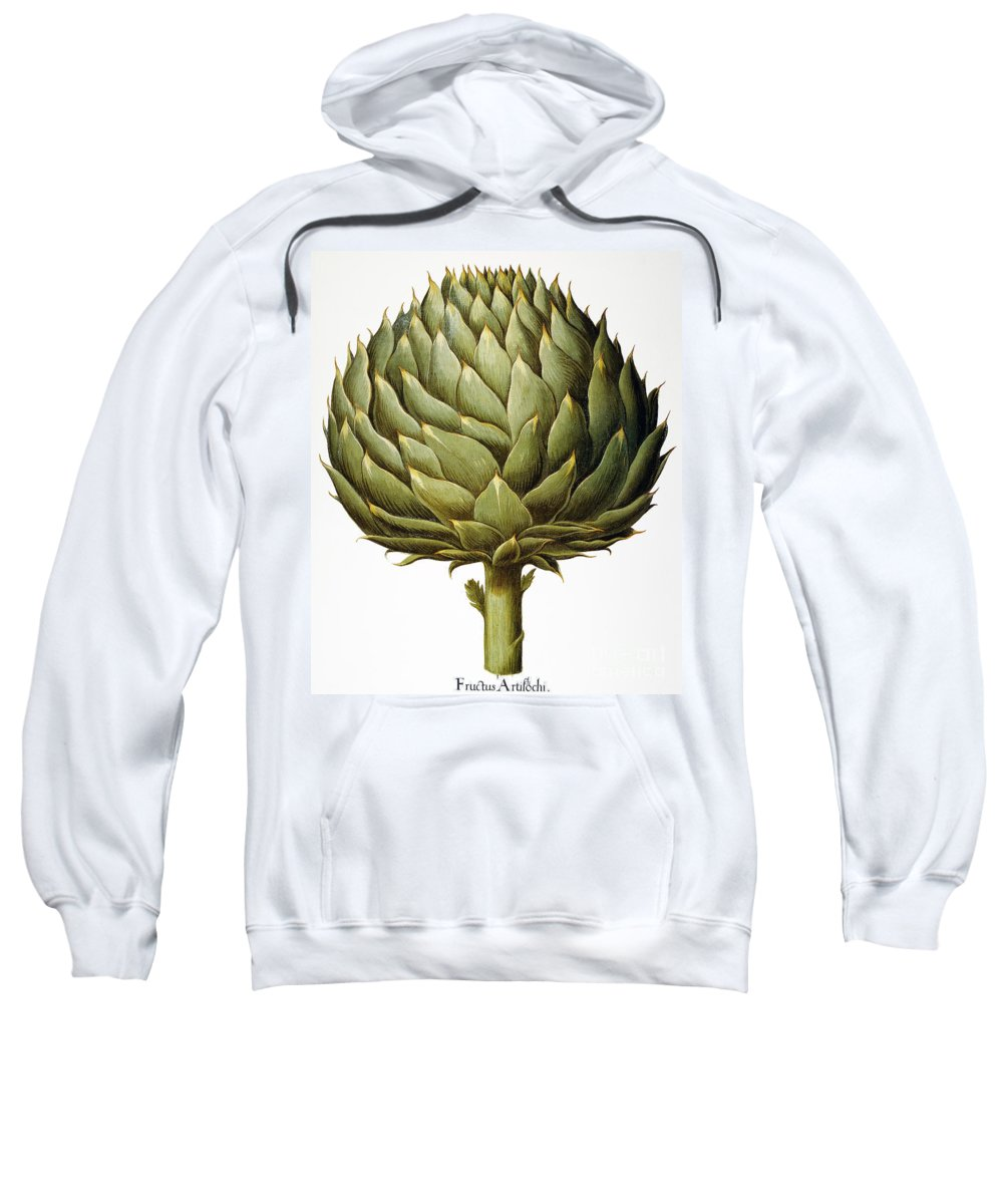 1613 Sweatshirt featuring the photograph Artichoke, 1613 by Granger