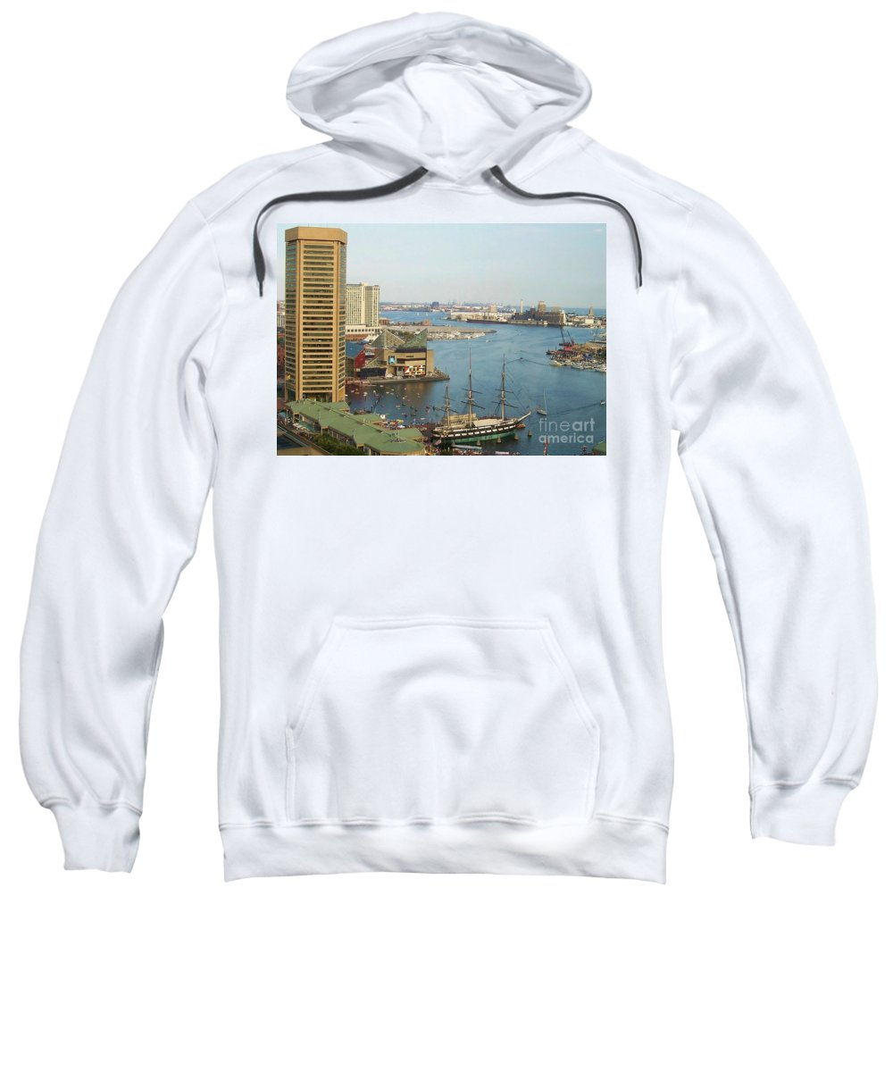 Baltimore Sweatshirt featuring the photograph Baltimore by Debbi Granruth