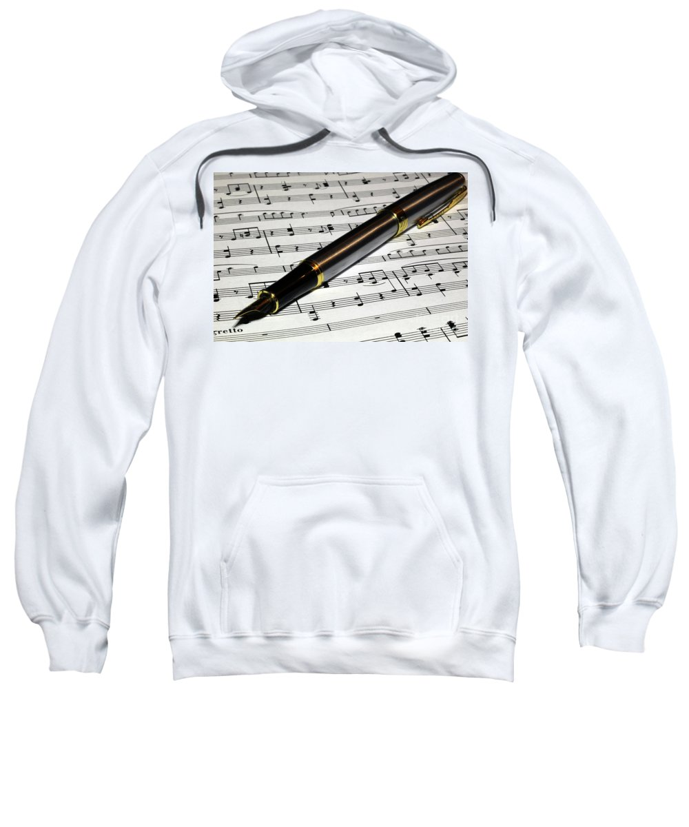 Pen Sweatshirt featuring the photograph Be Inspired by Douglas Milligan