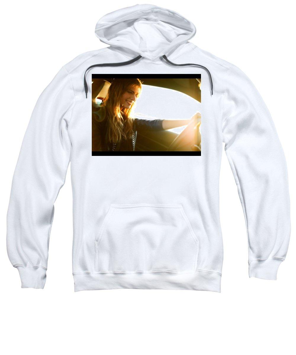 Beautiful Sweatshirt featuring the digital art Beautiful by Bert Mailer