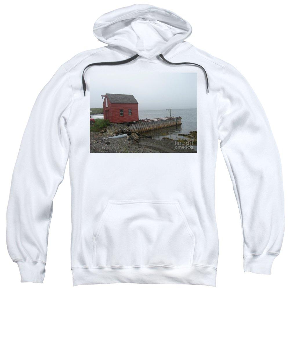 Photograph Bonavista Island Atlantic Ocean Newfoundland Sweatshirt featuring the photograph Bonavista by Seon-Jeong Kim