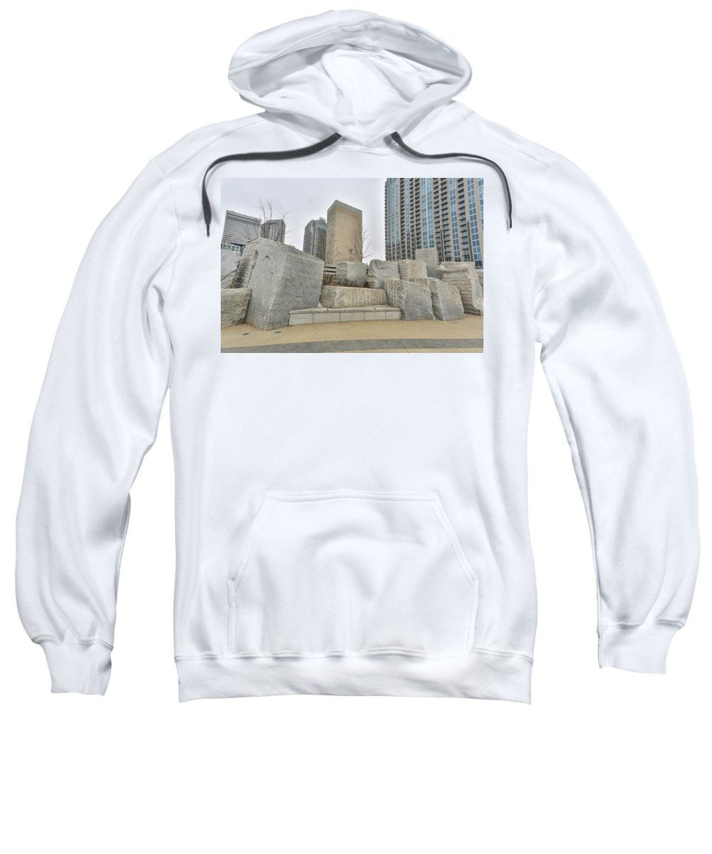 Charlotte Nc Downtown Sweatshirt featuring the photograph Charlotte Nc Downtown by Jimmy McDonald