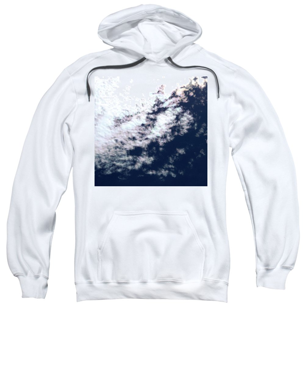 Strange Clouds Sweatshirt featuring the photograph Cloud 14 by Kit Kay