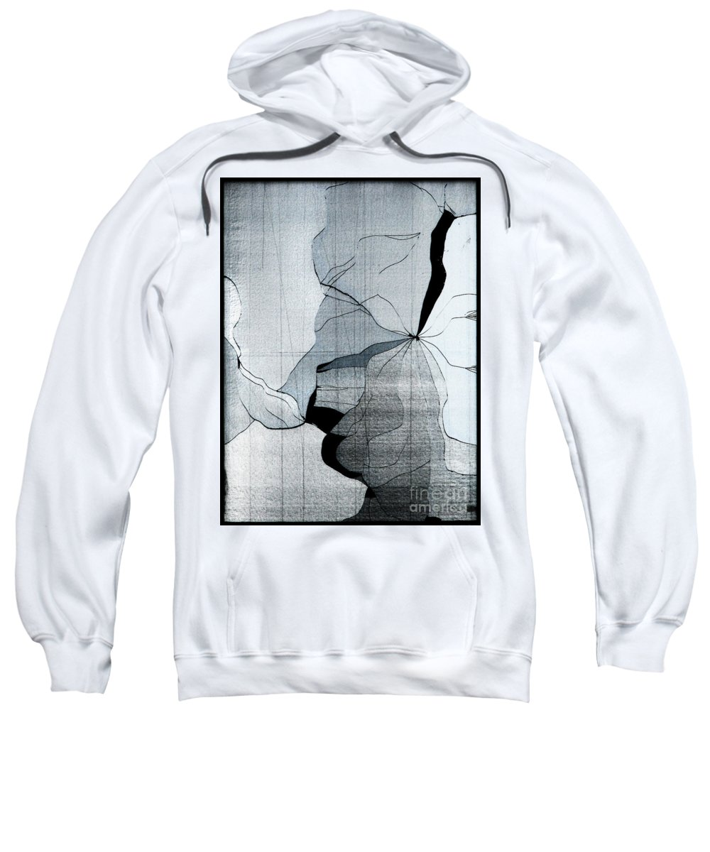 Abstract Sweatshirt featuring the photograph Colors Are Bleeding Once Again by Dana DiPasquale