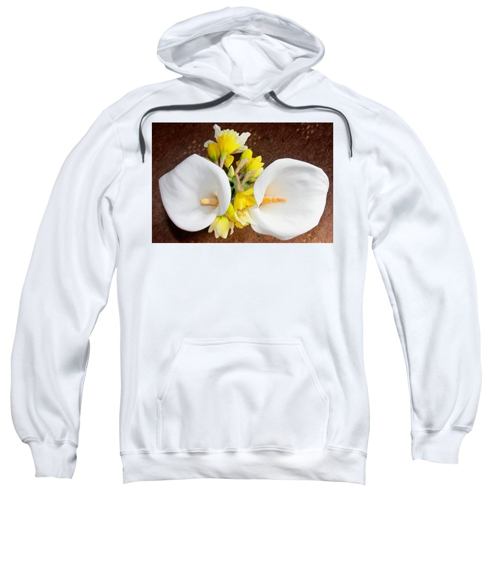 Double Sweatshirt featuring the photograph Double Delight by Kevin F Cook