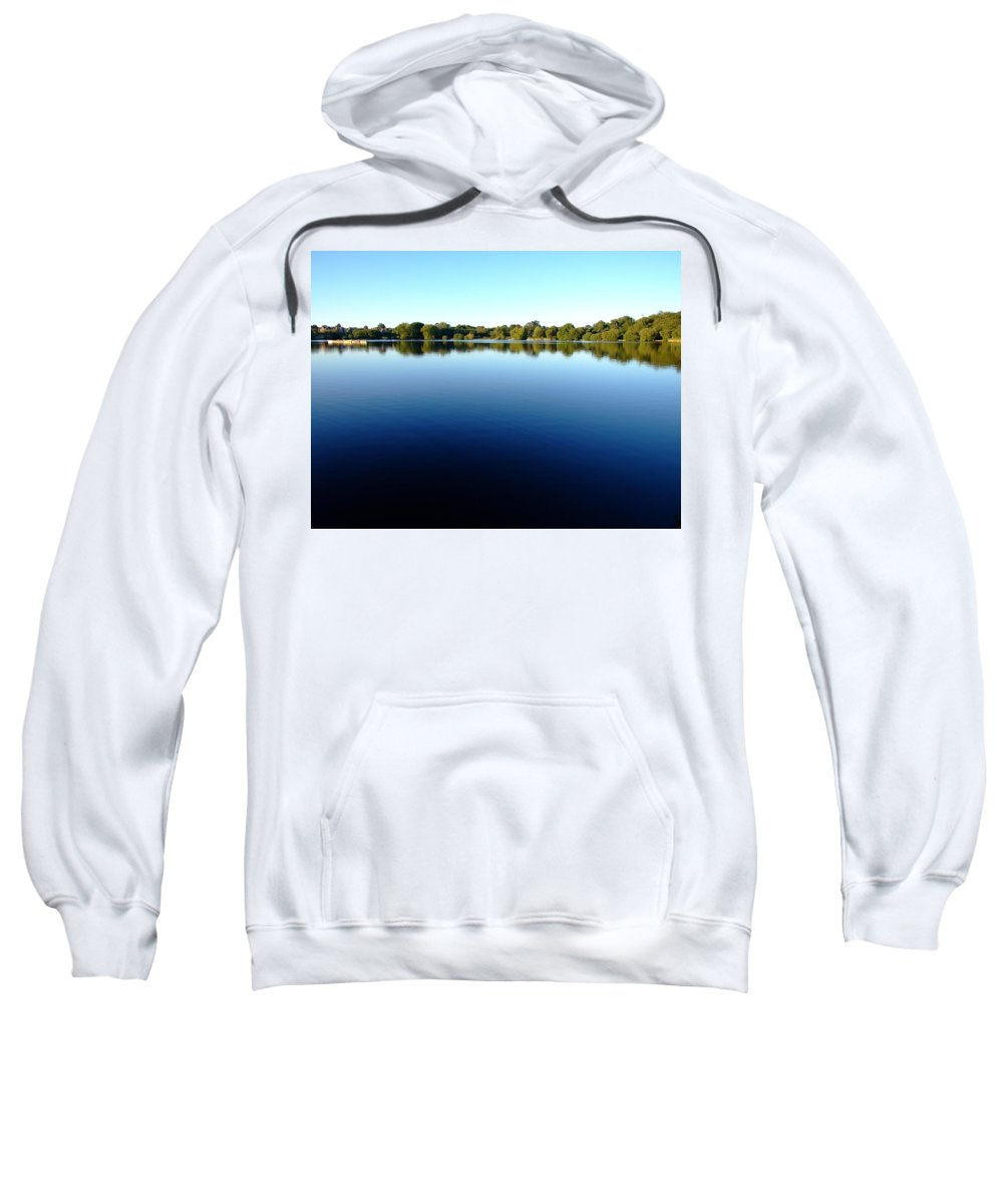 Clearing Sweatshirt featuring the photograph England by FL collection