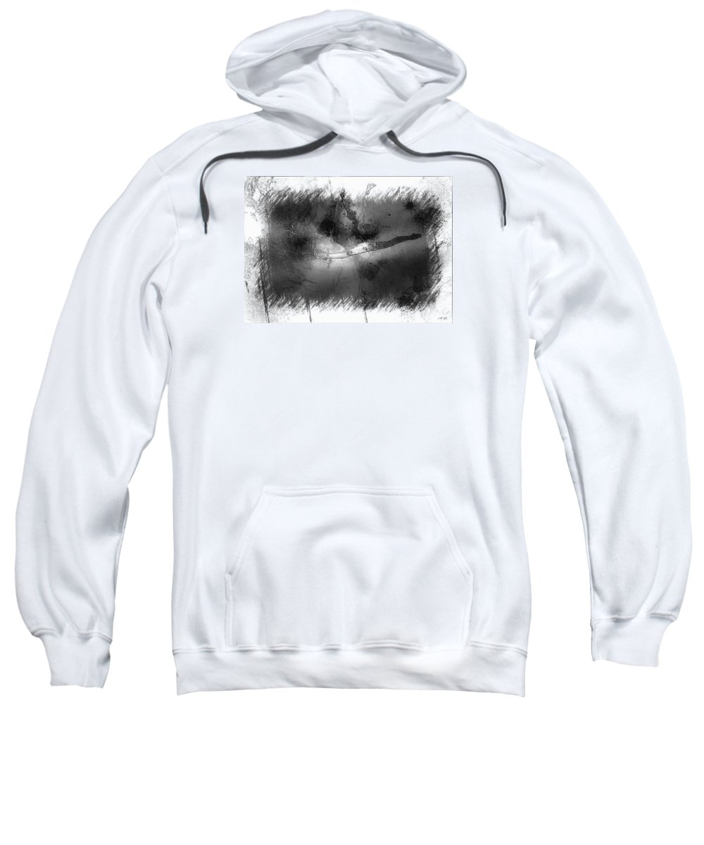 Untitled Sweatshirt featuring the photograph Falls by Jean Francois Gil