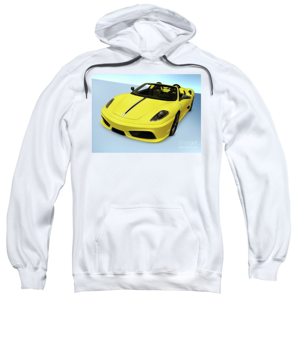 Ferrari Sweatshirt featuring the photograph Ferrari 16m Scuderia Spider by Oleksiy Maksymenko