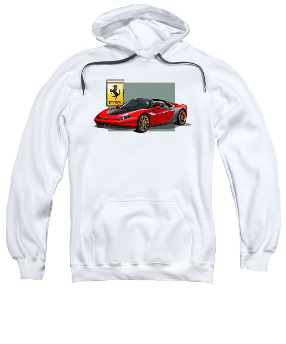 Ferrari Hooded Sweatshirts T-Shirts