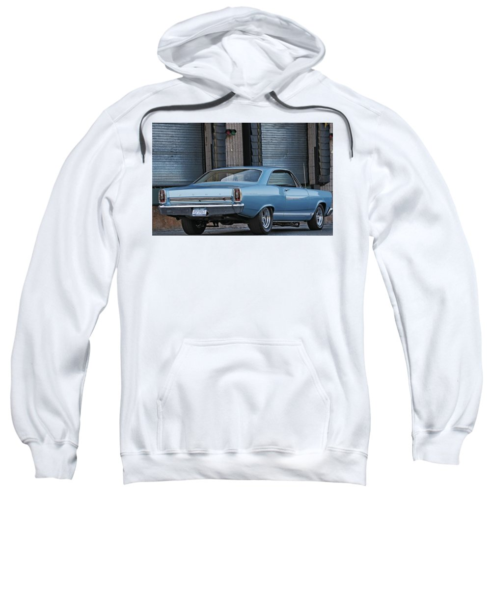 Ford Sweatshirt featuring the digital art Ford by Bert Mailer