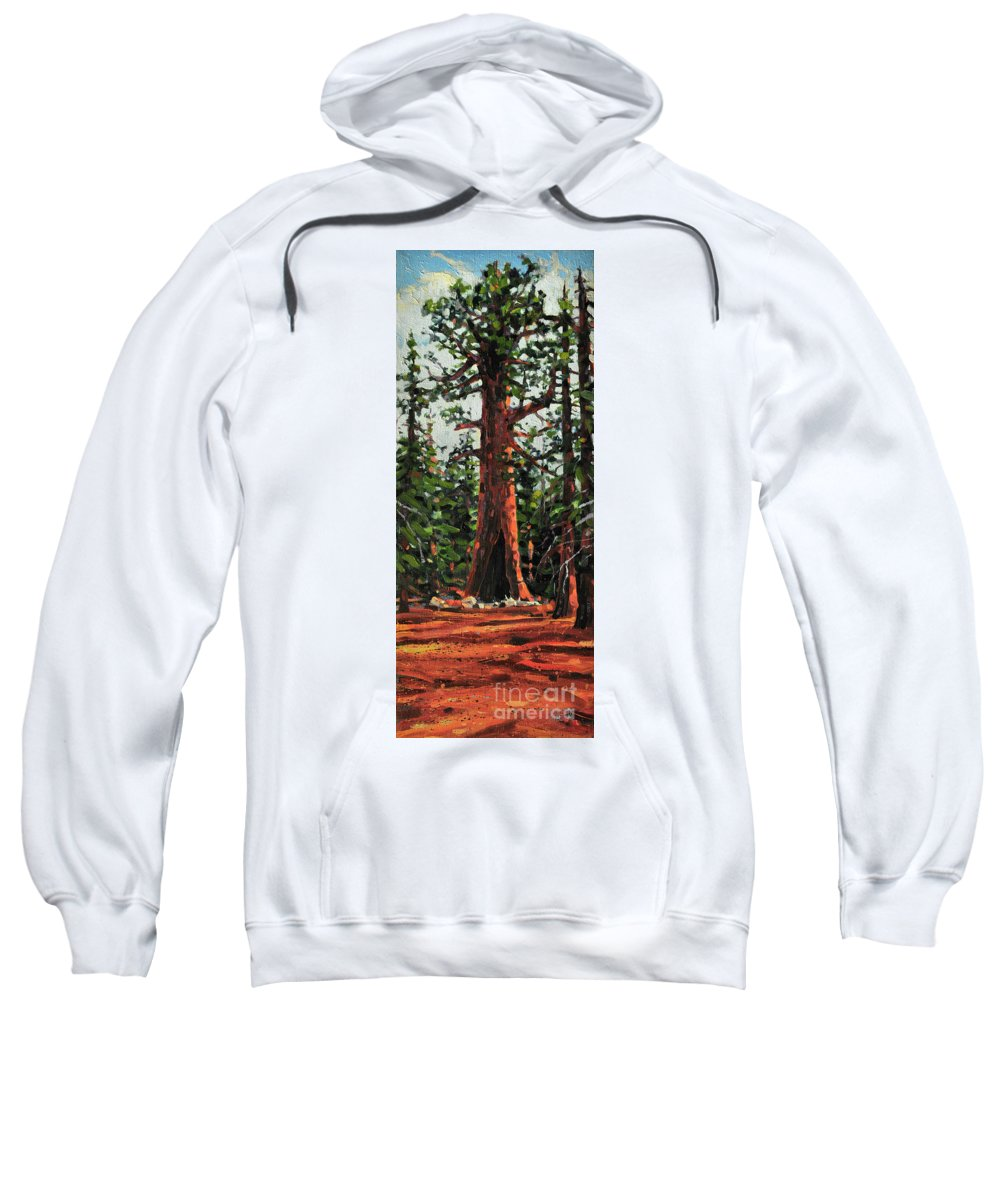 General Sherman Sweatshirt featuring the painting General Sherman by Donald Maier