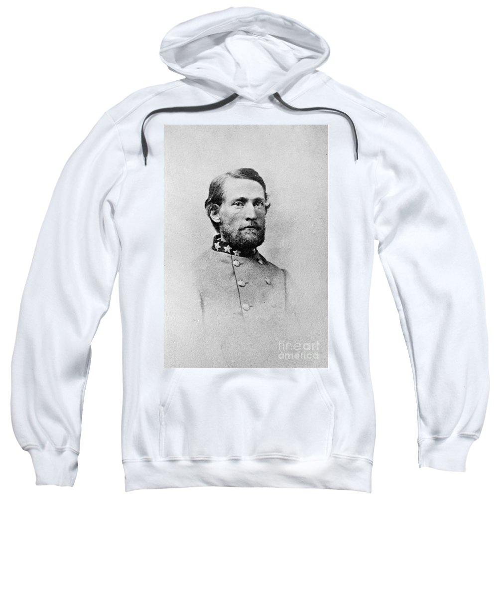 1860s Sweatshirt featuring the photograph John Singleton Mosby by Granger
