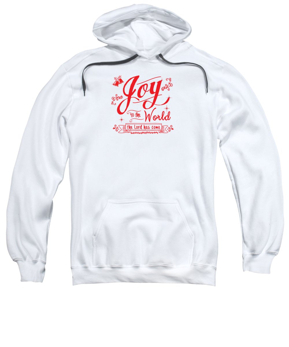 Joy To The World Sweatshirt featuring the digital art Joy To The World by Jan Marvin