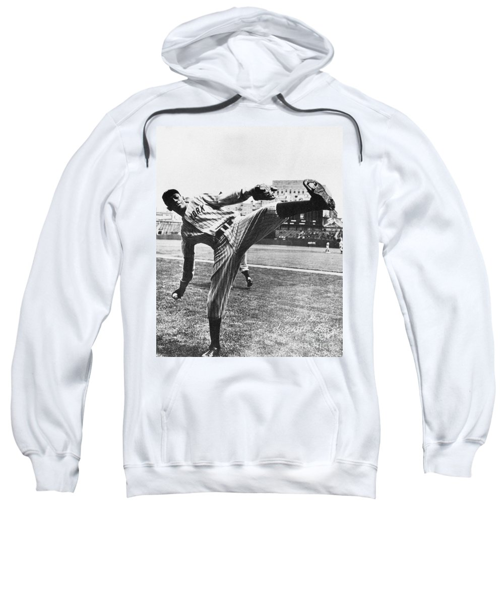 20th Century Sweatshirt featuring the photograph Leroy R. Paige (1906-1982) by Granger