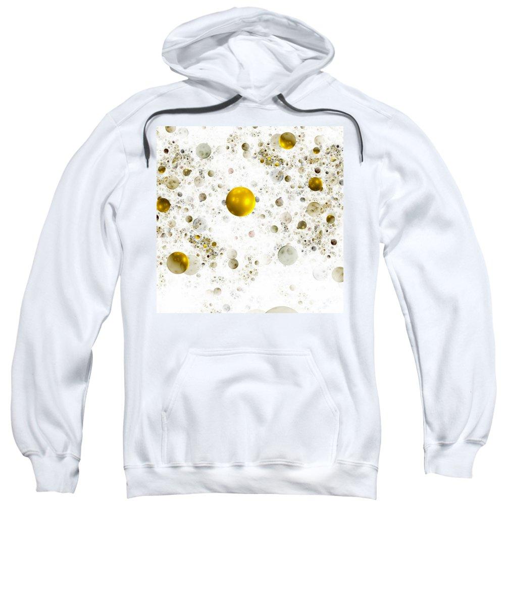 Abstract Sweatshirt featuring the digital art Lightness by Steve K