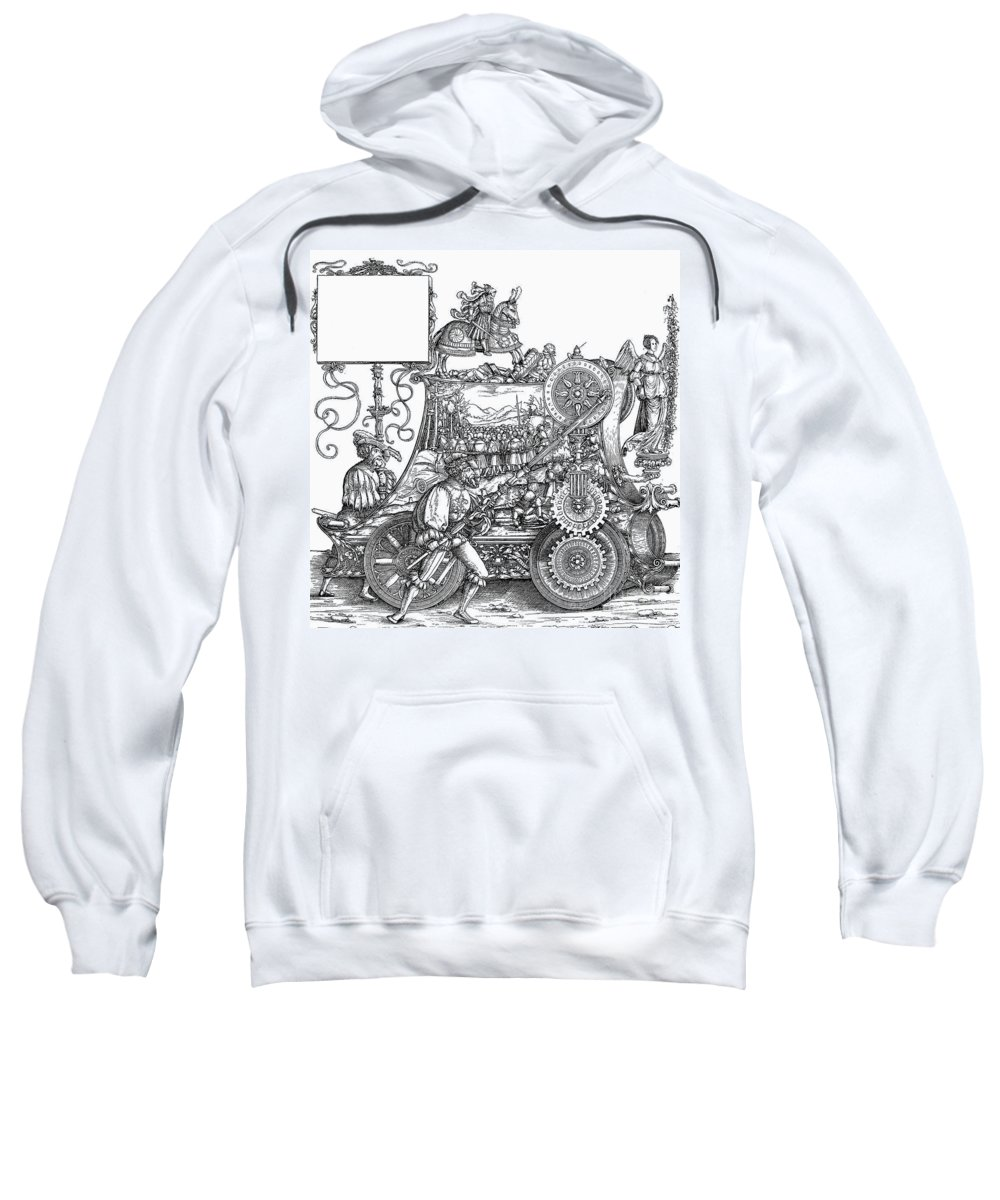 16th Century Sweatshirt featuring the drawing Maximilian I 1459-1519 by Granger