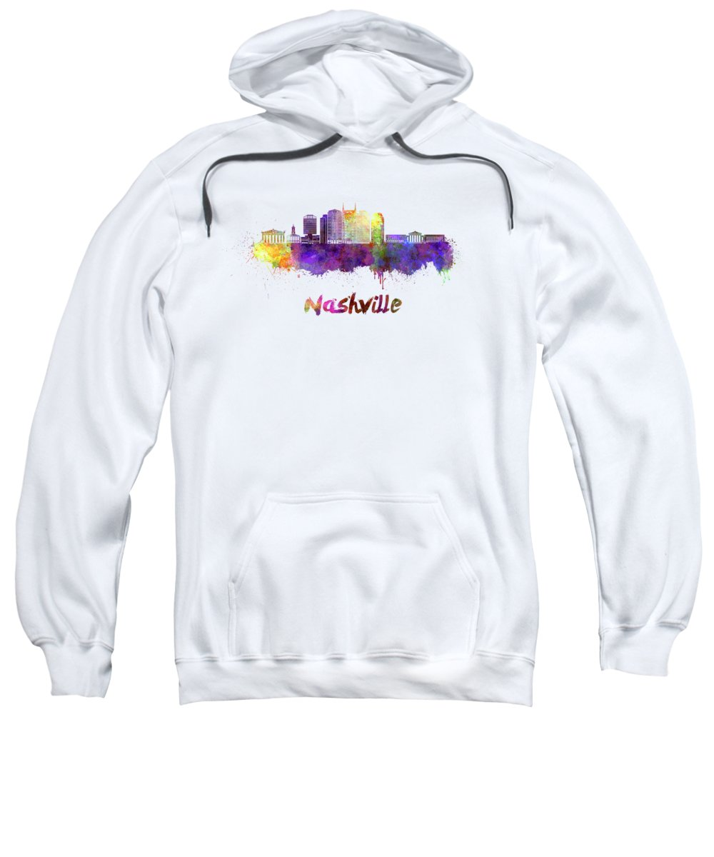 Nashville Skyline Hooded Sweatshirts T-Shirts