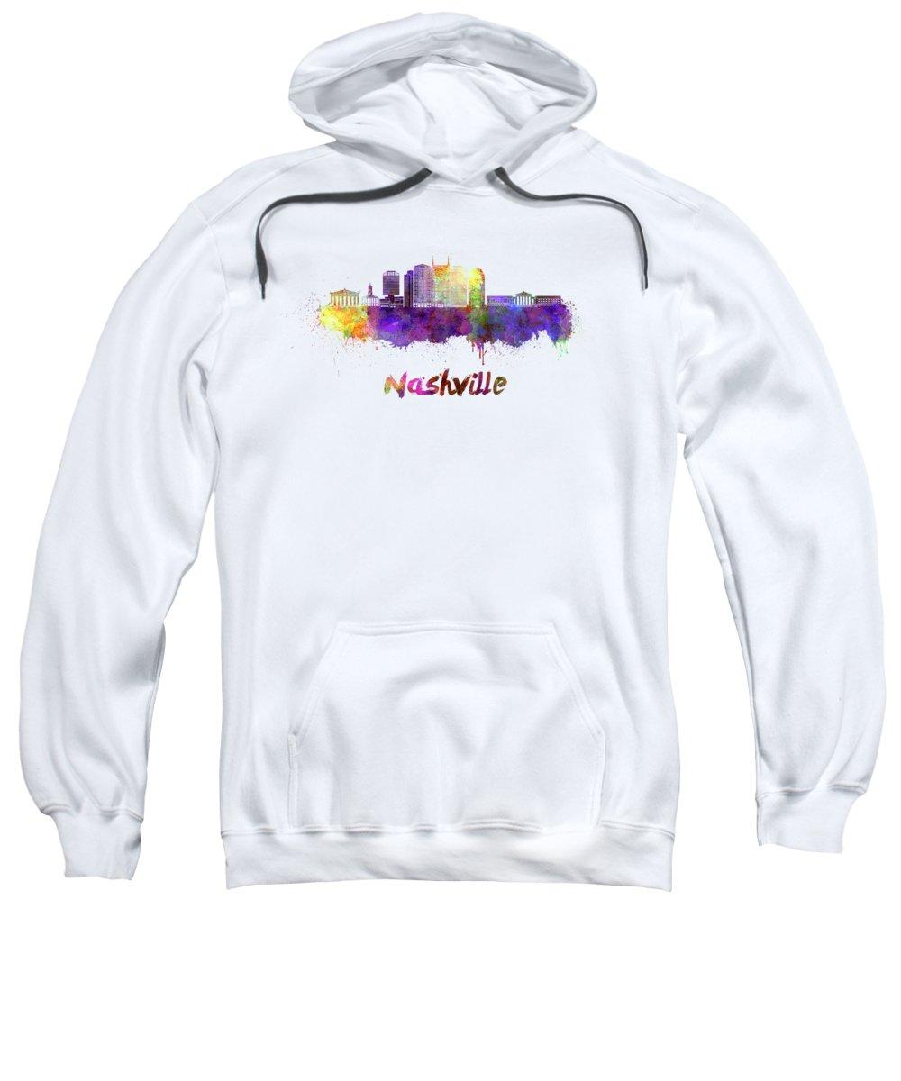 Nashville Skyline Hooded Sweatshirts T-Shirts