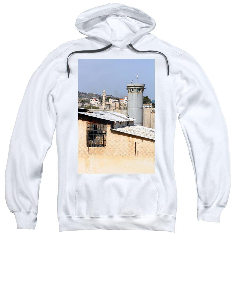 Neighbor Sweatshirt featuring the photograph Neighbor by Munir Alawi