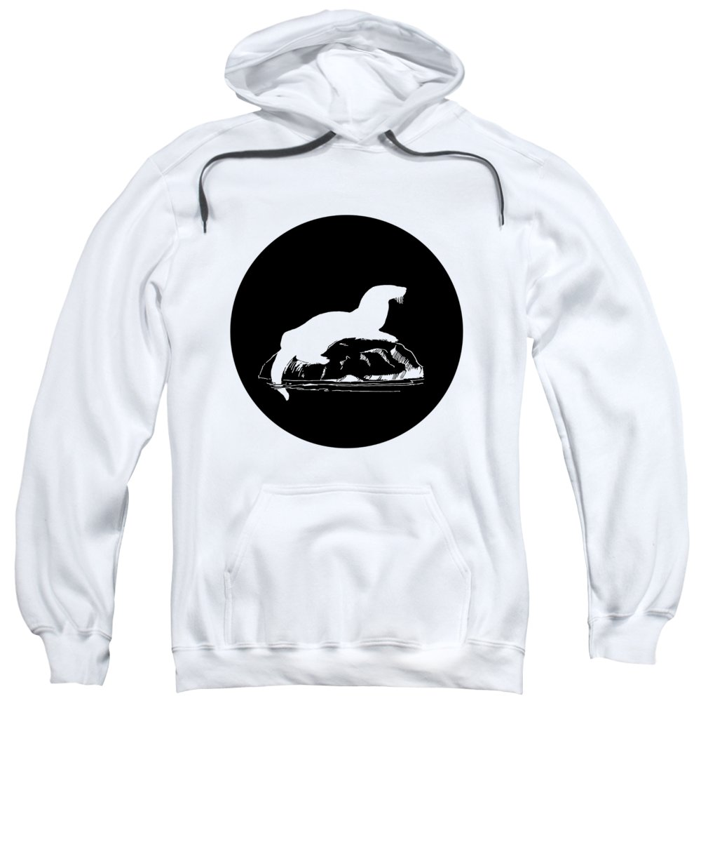 Otter Hooded Sweatshirts T-Shirts