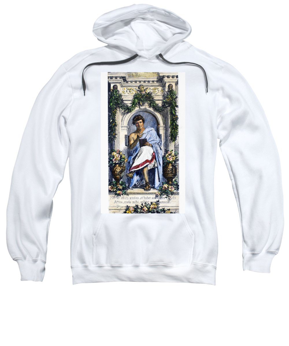 1st Century Sweatshirt featuring the photograph Ovid (43 B.c.-c17 A.d.) by Granger