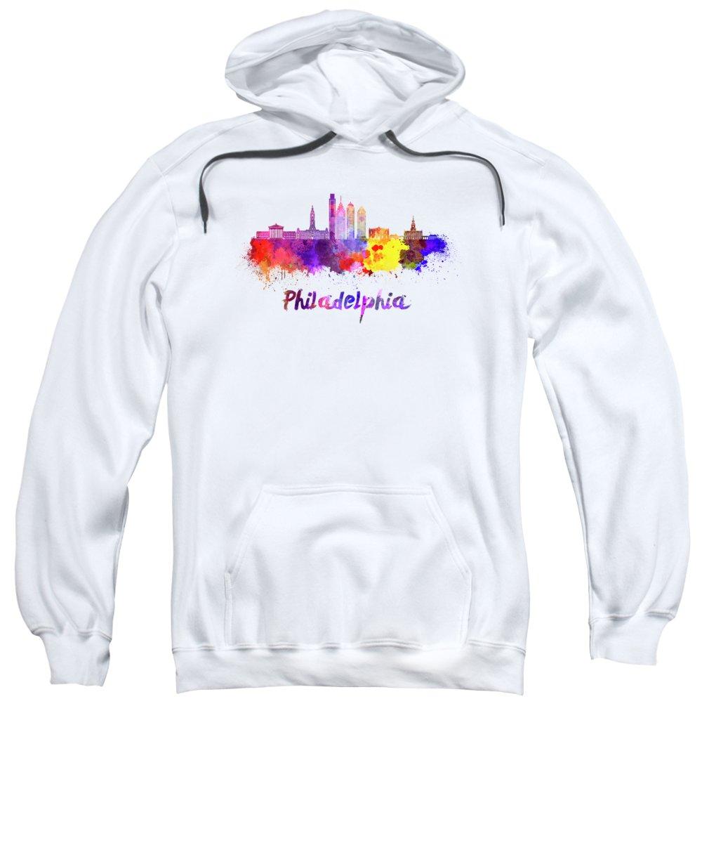 Philadelphia Skyline Hooded Sweatshirts T-Shirts