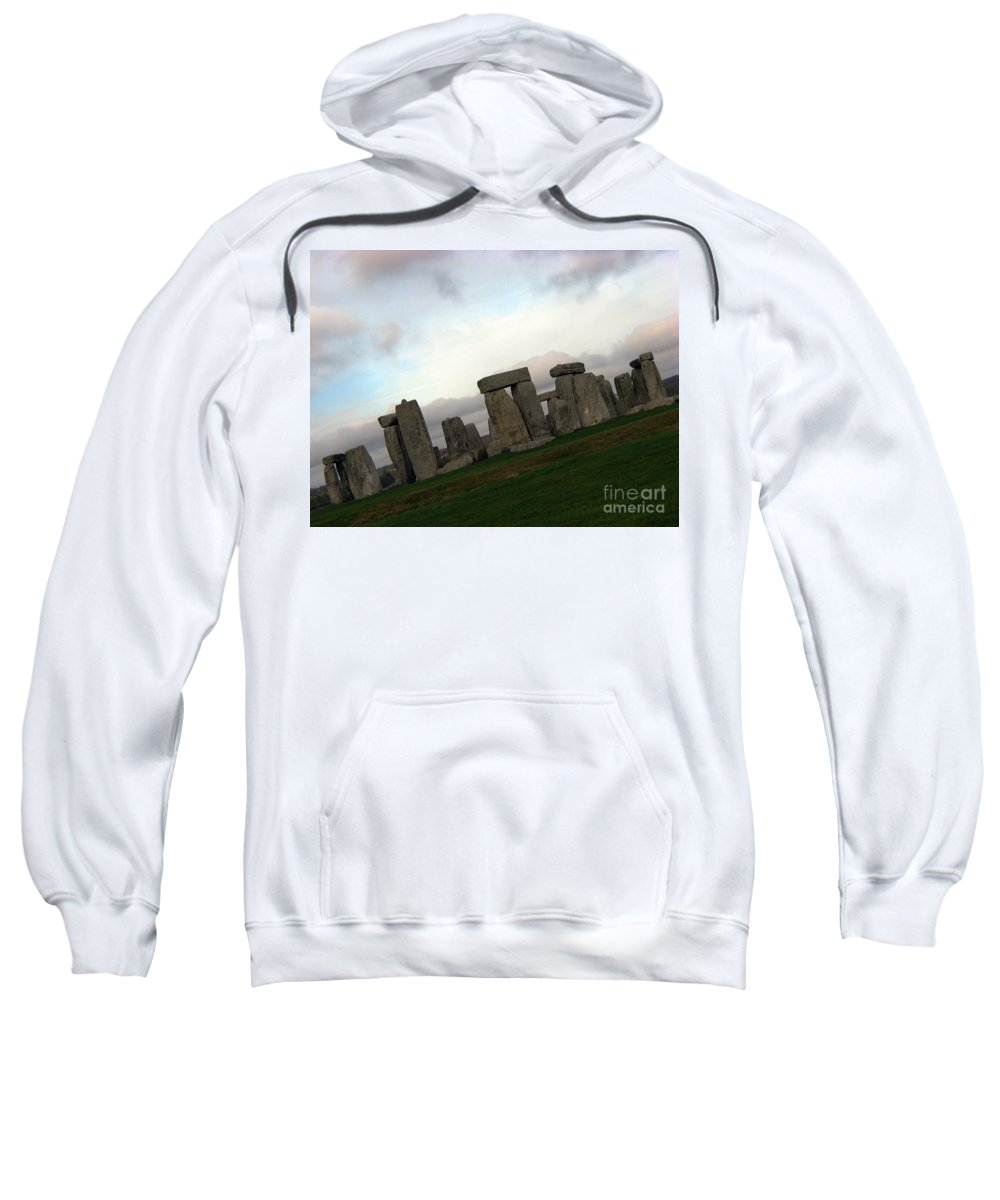 Stonehenge Sweatshirt featuring the photograph Stonehenge by Amanda Barcon