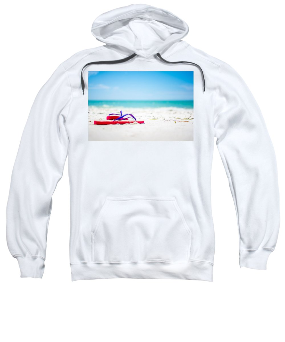 Tropical Paradise Sweatshirt featuring the photograph Tropical Paradise by Manuel Lopez