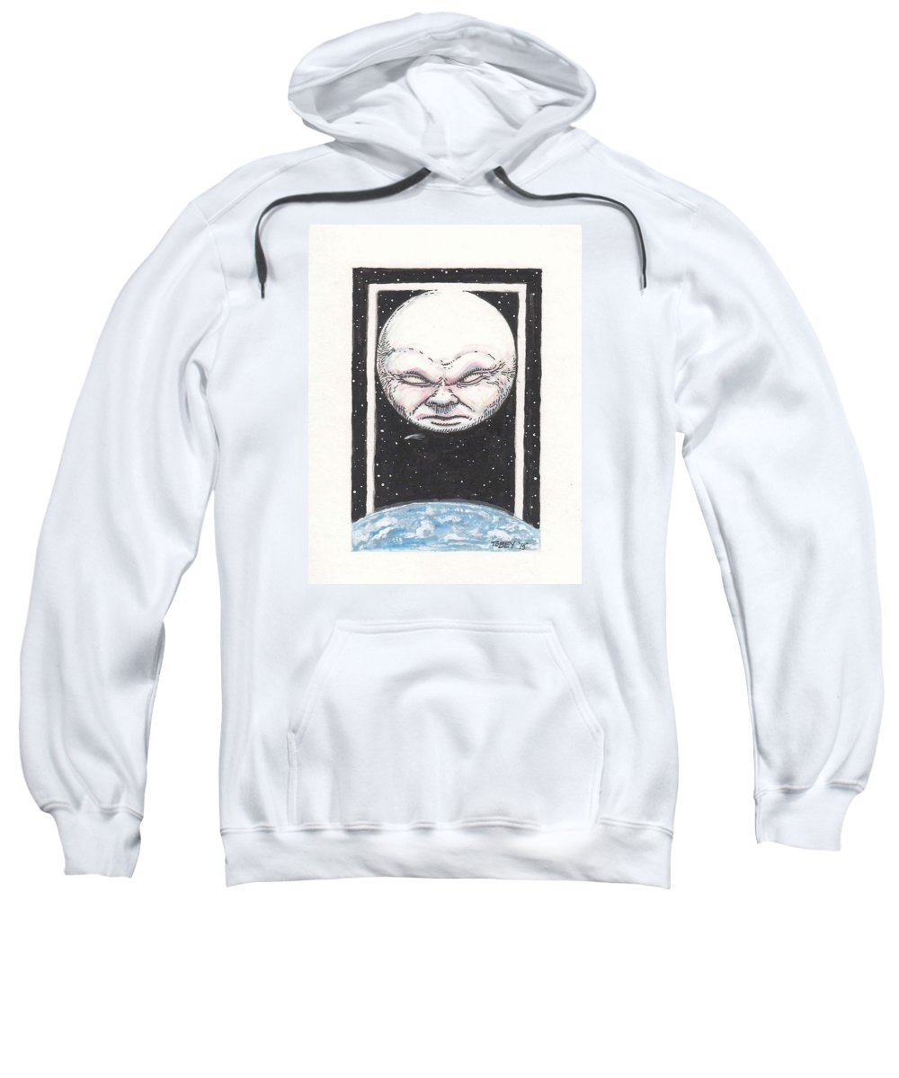 Furniture Sweatshirt featuring the drawing Untitled by Tobey Anderson