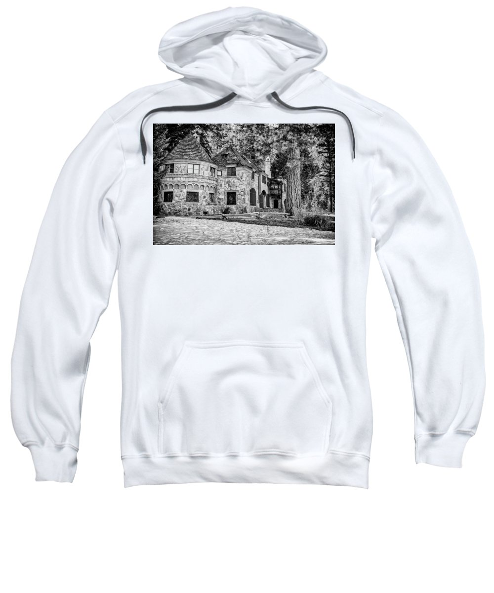 Lake Tahoe Sweatshirt featuring the photograph Vikingsholm Castle Lake Tahoe by Donald Pash
