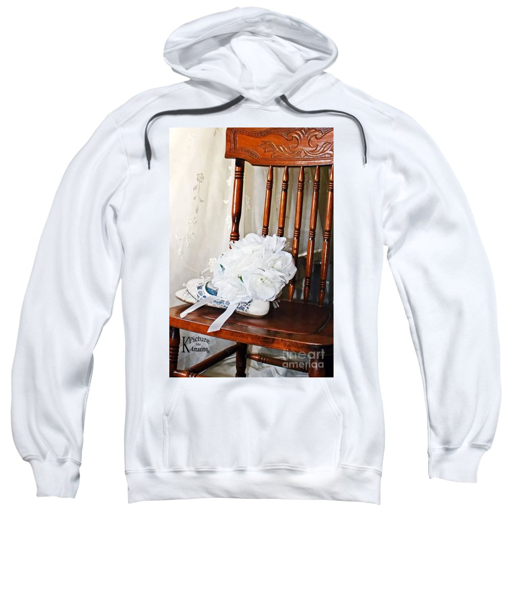 Bride Sweatshirt featuring the photograph Waiting by Katherine Williams