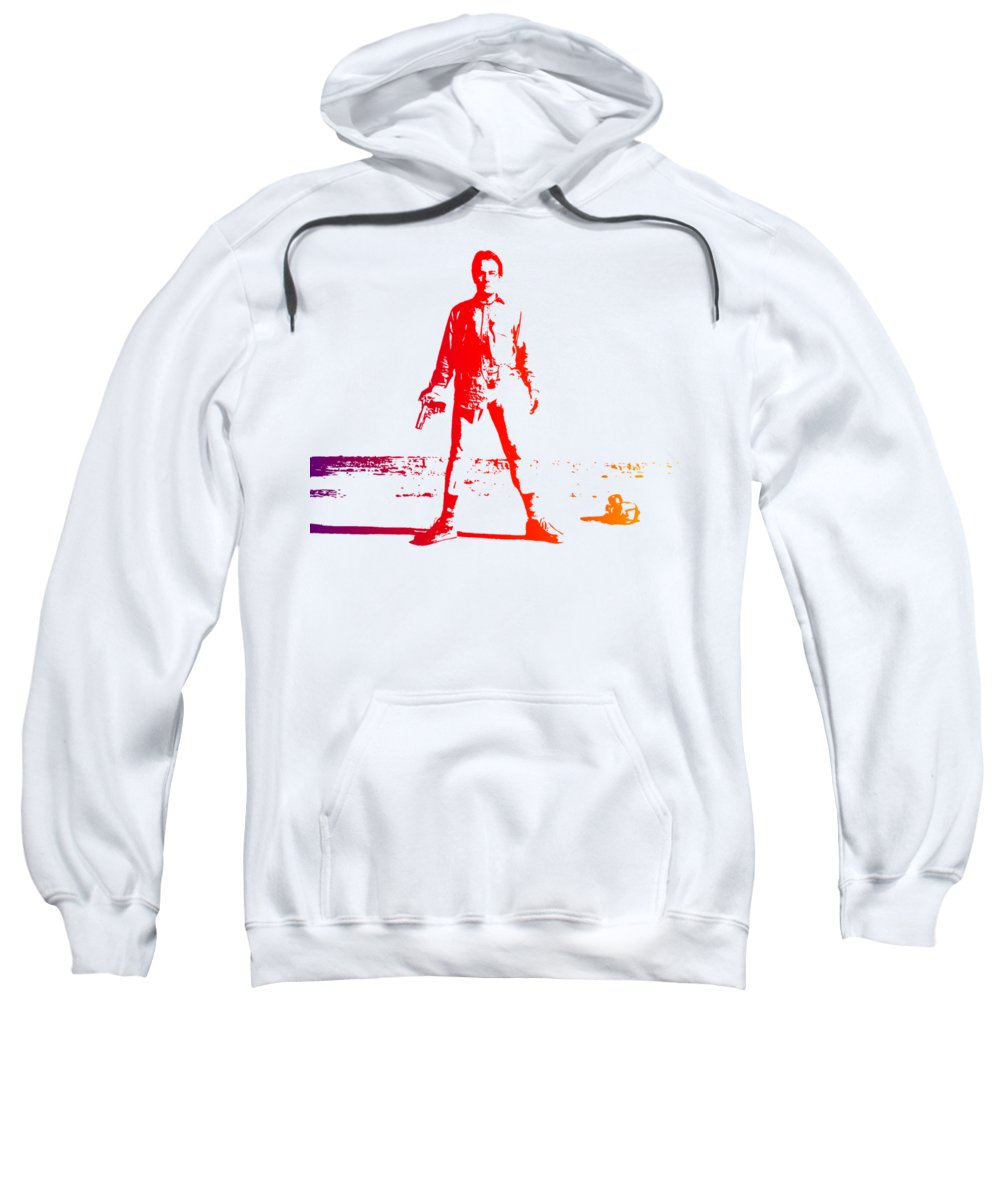 Breaking Bad Sweatshirt featuring the photograph Walter White Aka Heisenberg by Chris Smith