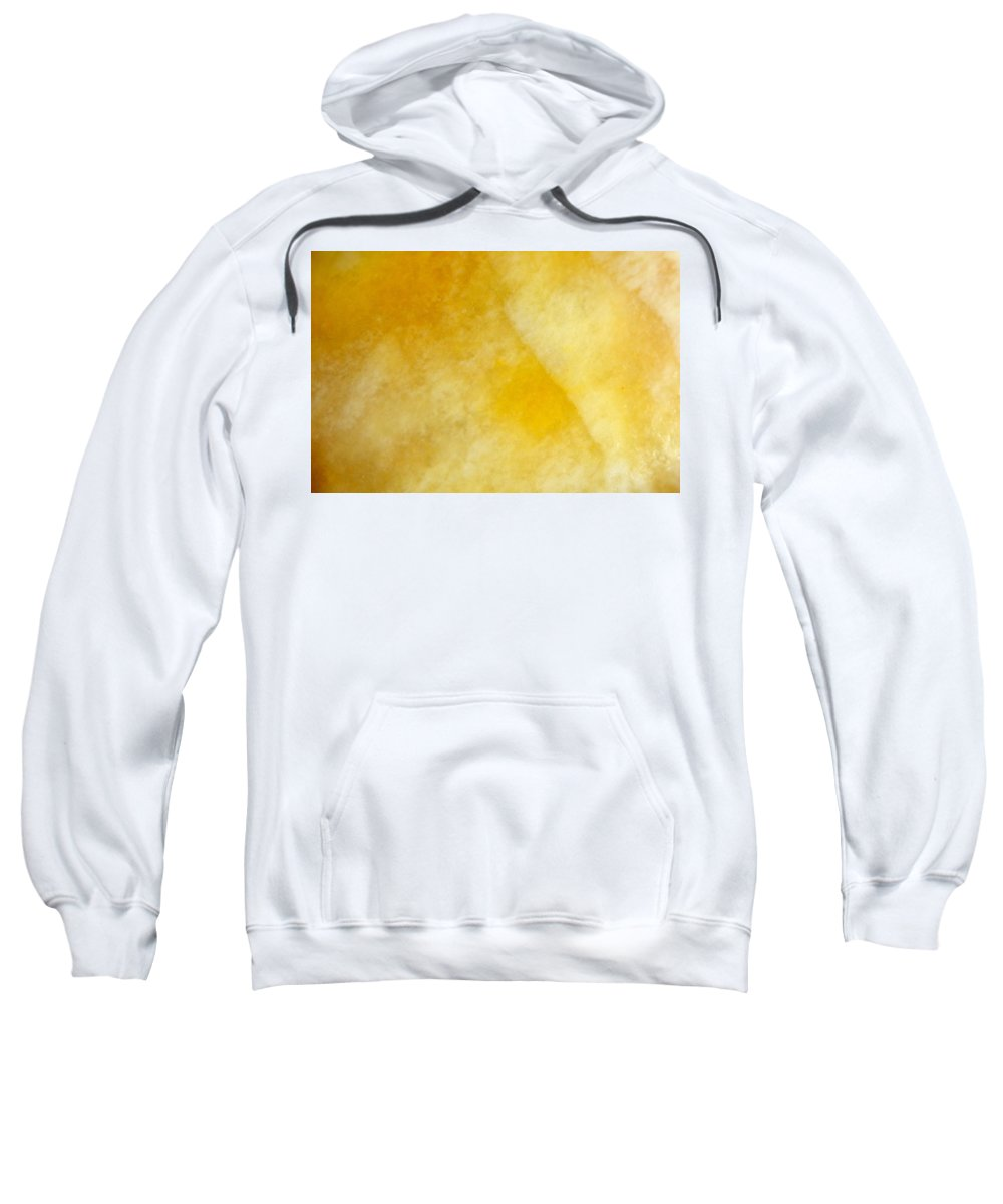 Yellow Sweatshirt featuring the photograph Yellow by Corinne Rhode