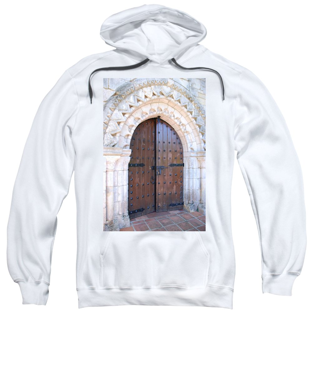 Architecture Sweatshirt featuring the photograph Miami Monastery by Rob Hans