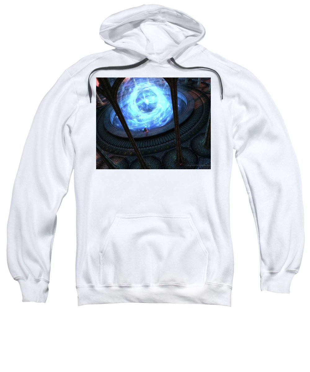 Other Sweatshirt featuring the digital art Other by Bert Mailer