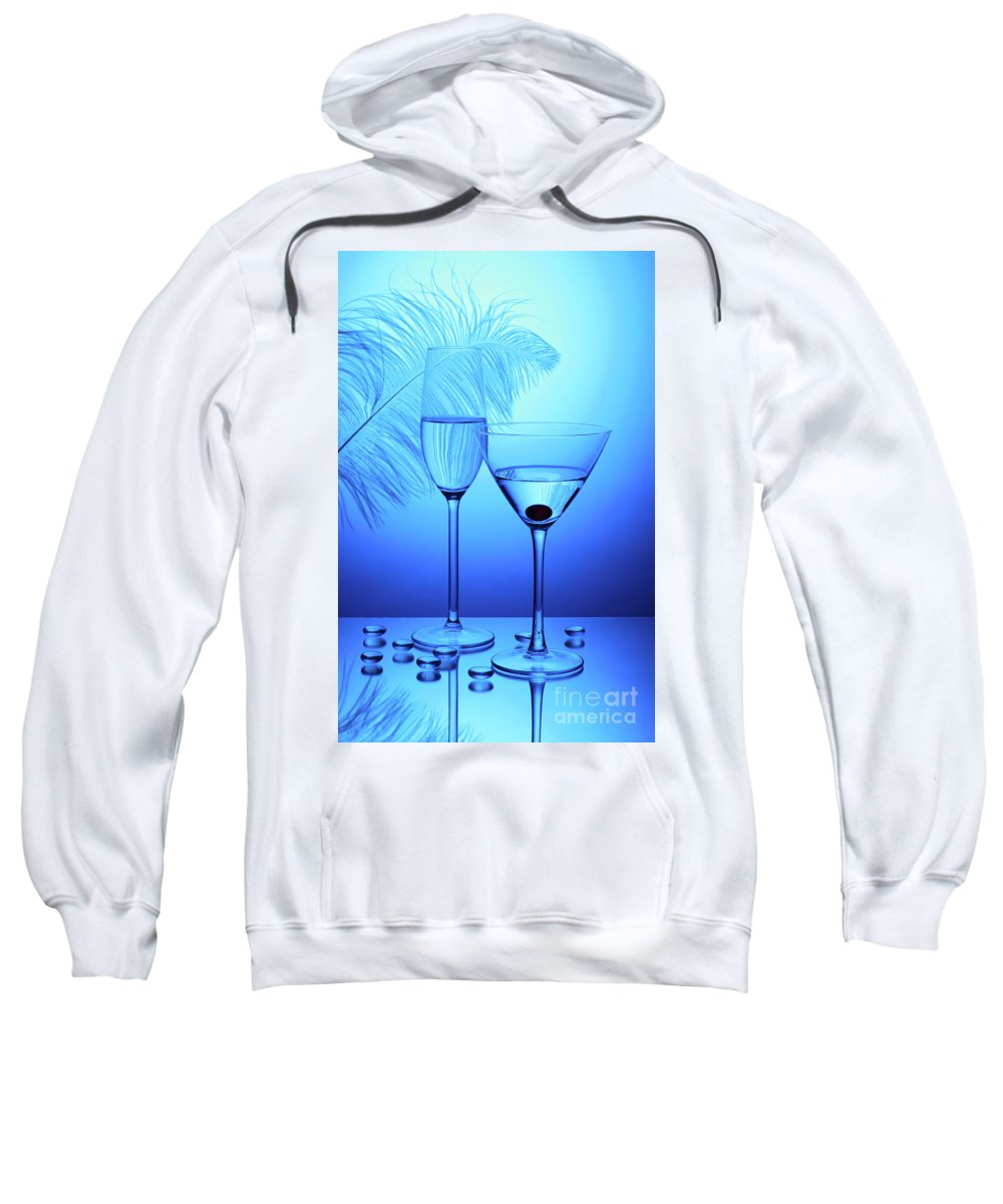 Glass Sweatshirt featuring the photograph Glass by Matild Balogh