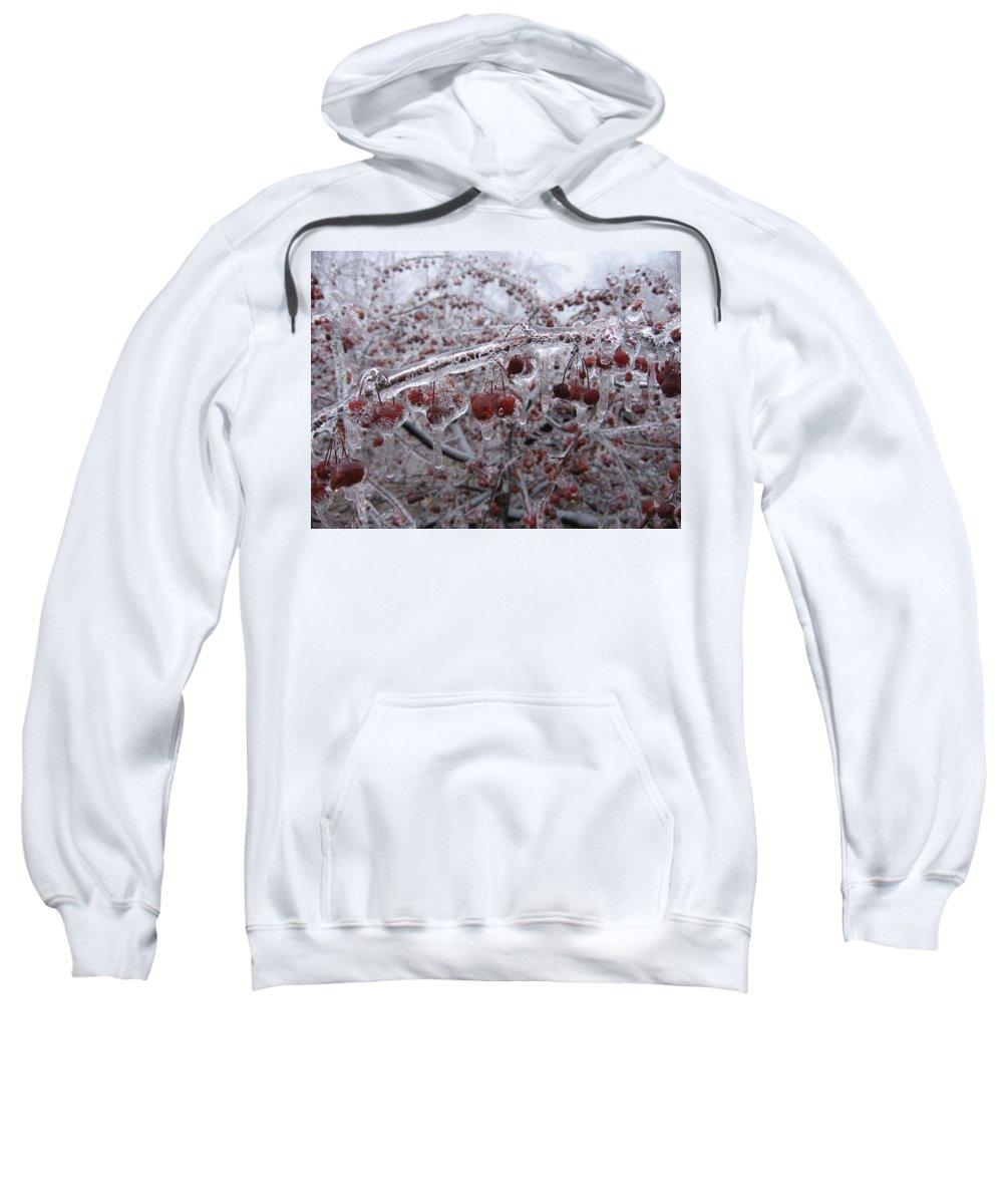Winter Sweatshirt featuring the digital art Winter by Mery Moon