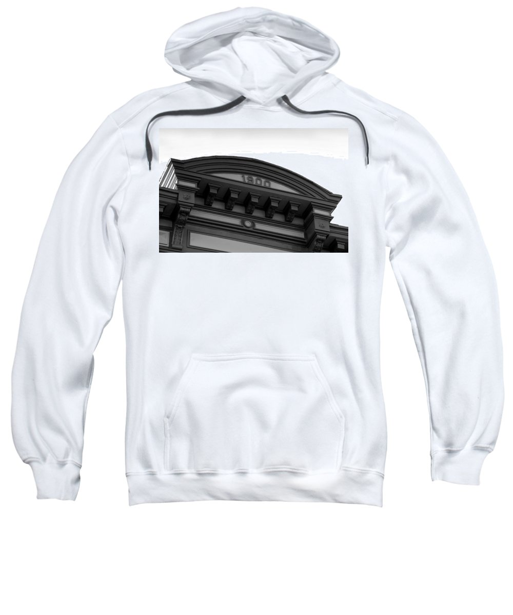 1900.architecture Sweatshirt featuring the photograph 1900 by David Lee Thompson