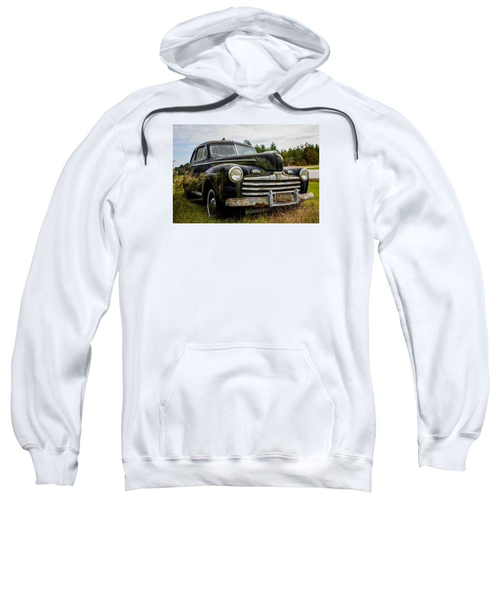 Nice Sweatshirt featuring the photograph 1946 Ford Model A by Alicia Collins