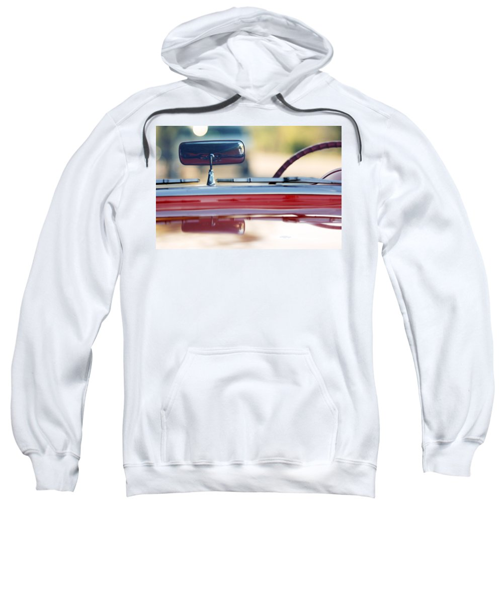 Classic Car Sweatshirt featuring the photograph 1957 Chevrolet Corvette Convertible by Jill Reger
