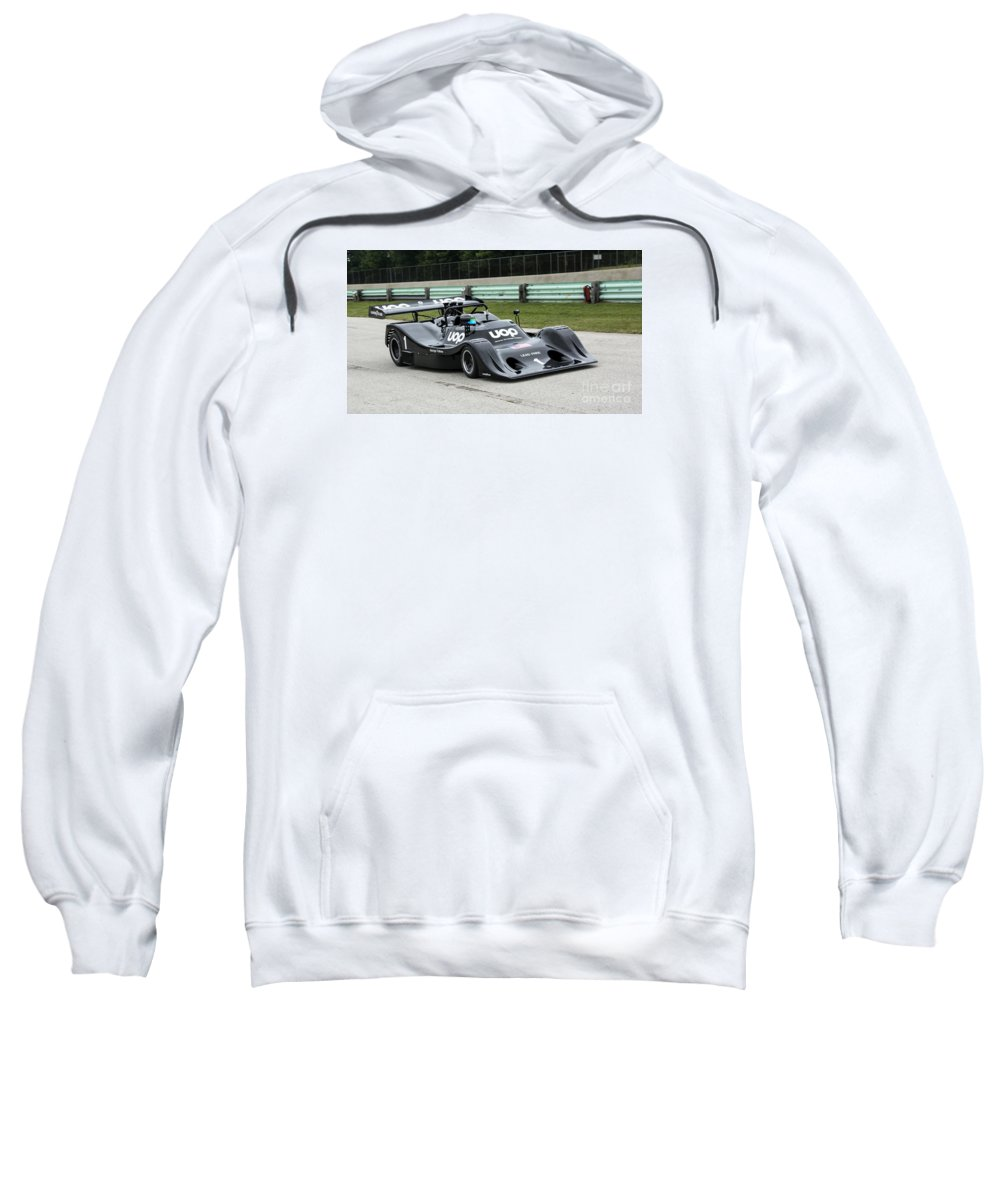 Automobile Sweatshirt featuring the photograph 1974 Shadow Dn4 Can-am At Road America by Tad Gage