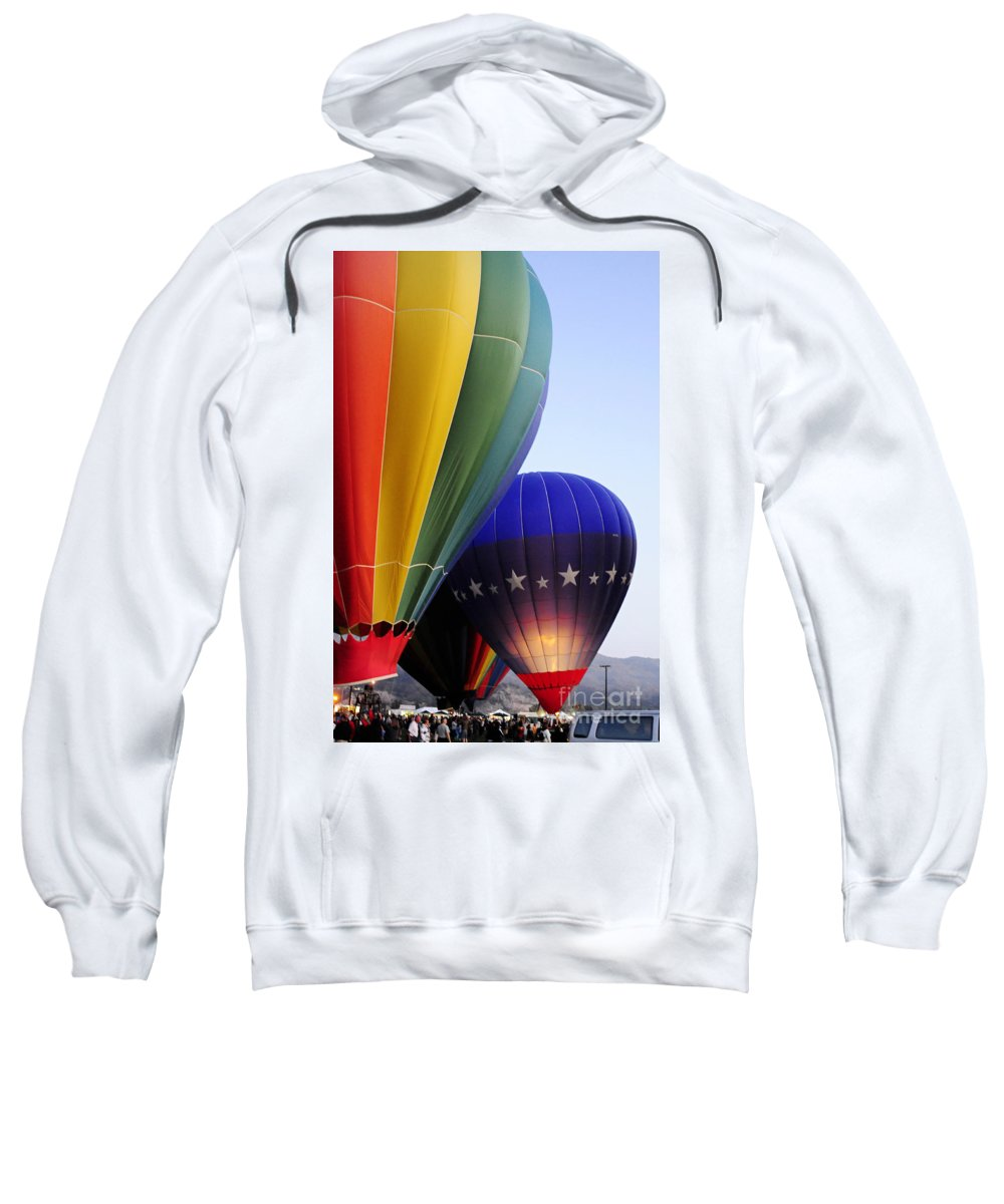 Clay Sweatshirt featuring the photograph Glowing by Clayton Bruster