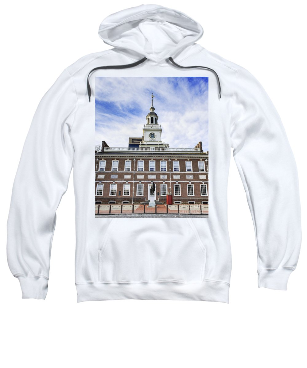 American Sweatshirt featuring the photograph Independence Hall Philadelphia by John Greim