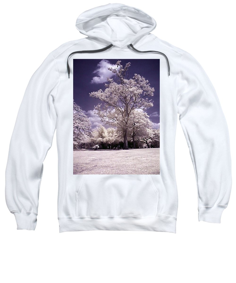 Infrared Sweatshirt featuring the photograph Magic Garden by Galeria Trompiz