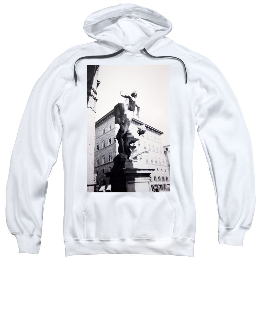 Florence Sweatshirt featuring the photograph Palazzo Vecchio by Kurt Hausmann