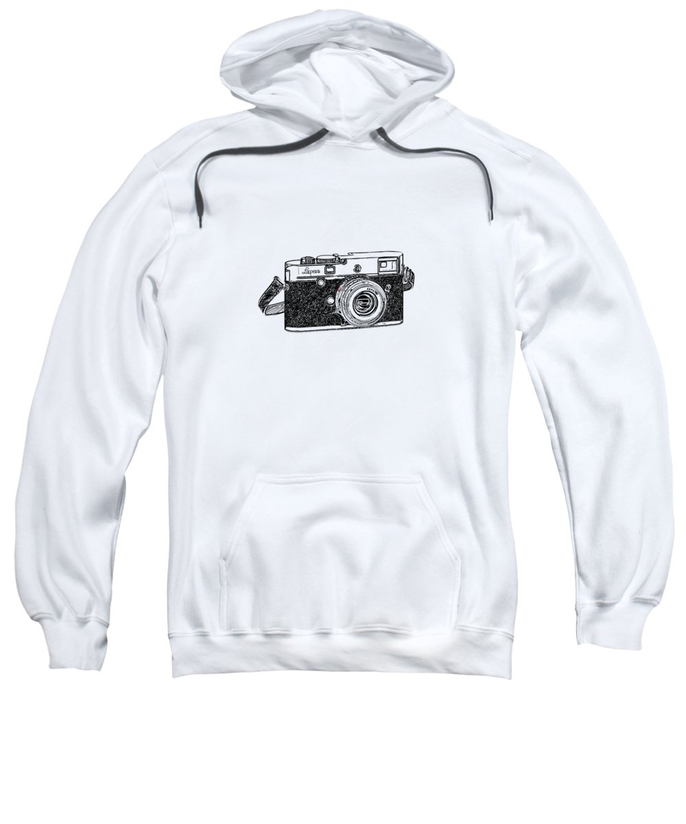 Vintage Camera Hooded Sweatshirts T-Shirts