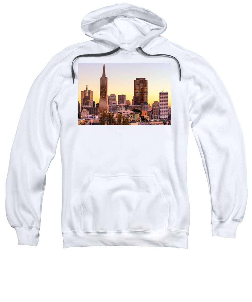 Francisco Sweatshirt featuring the photograph San Francisco - California - Usa by Luciano Mortula