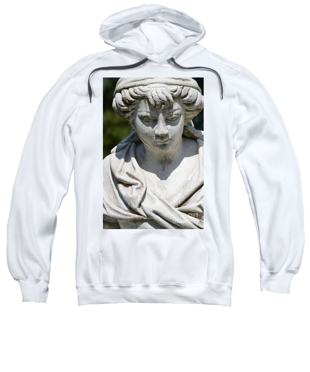Statue Sweatshirt featuring the photograph Statue by Photos By Zulma