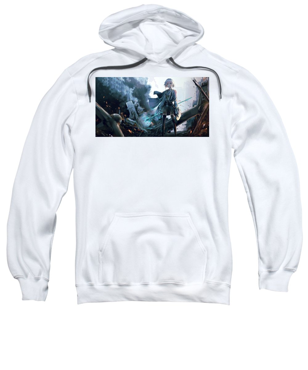 Original Sweatshirt featuring the digital art Original by Bert Mailer