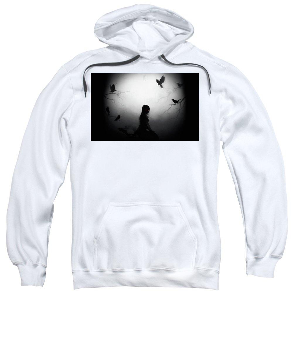 Original Sweatshirt featuring the digital art Original by Bert Mailer